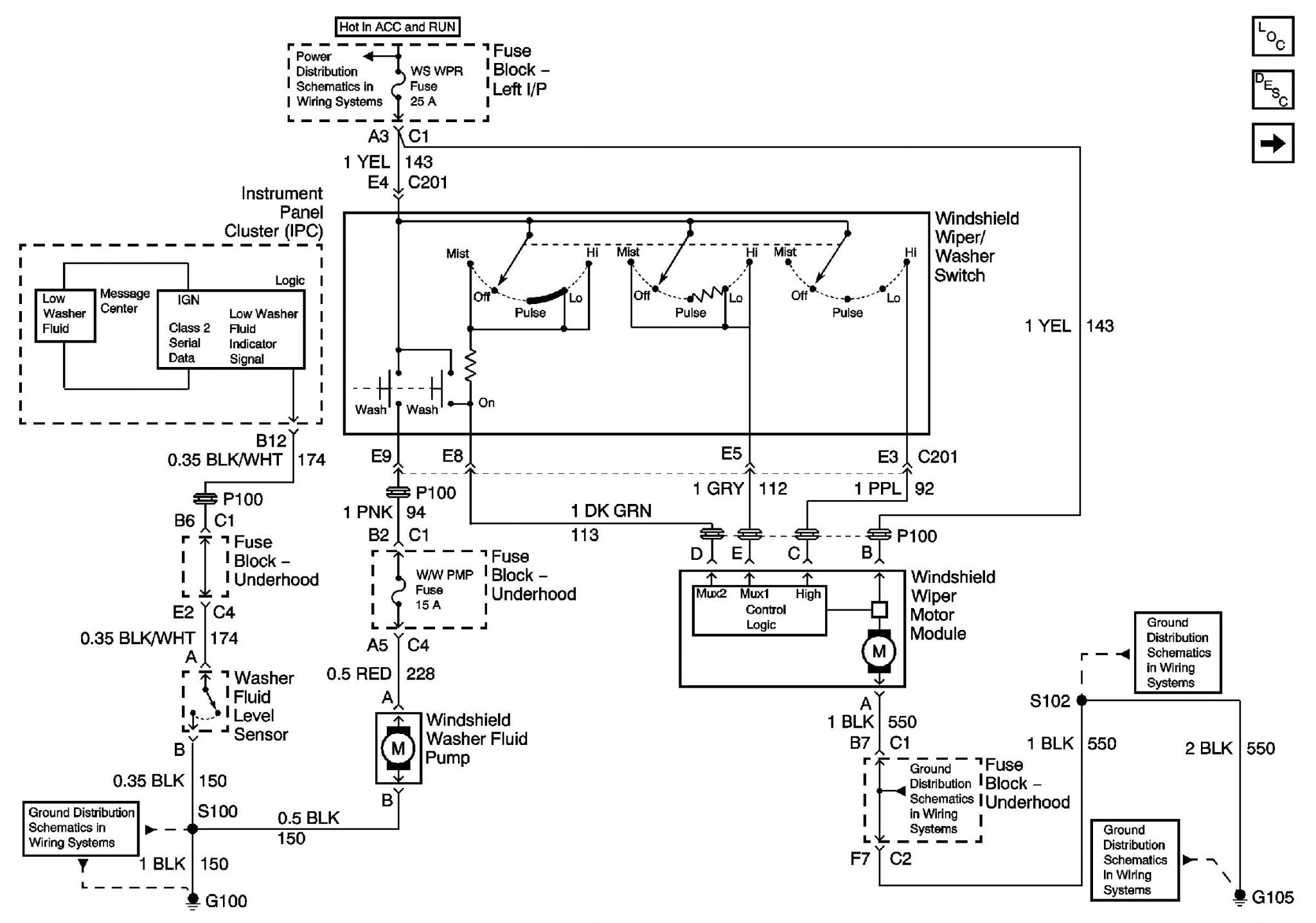 Windshield Wiper Washer Related 2002 Tahoe Fuse Box Schematic Click Pic To Expand It