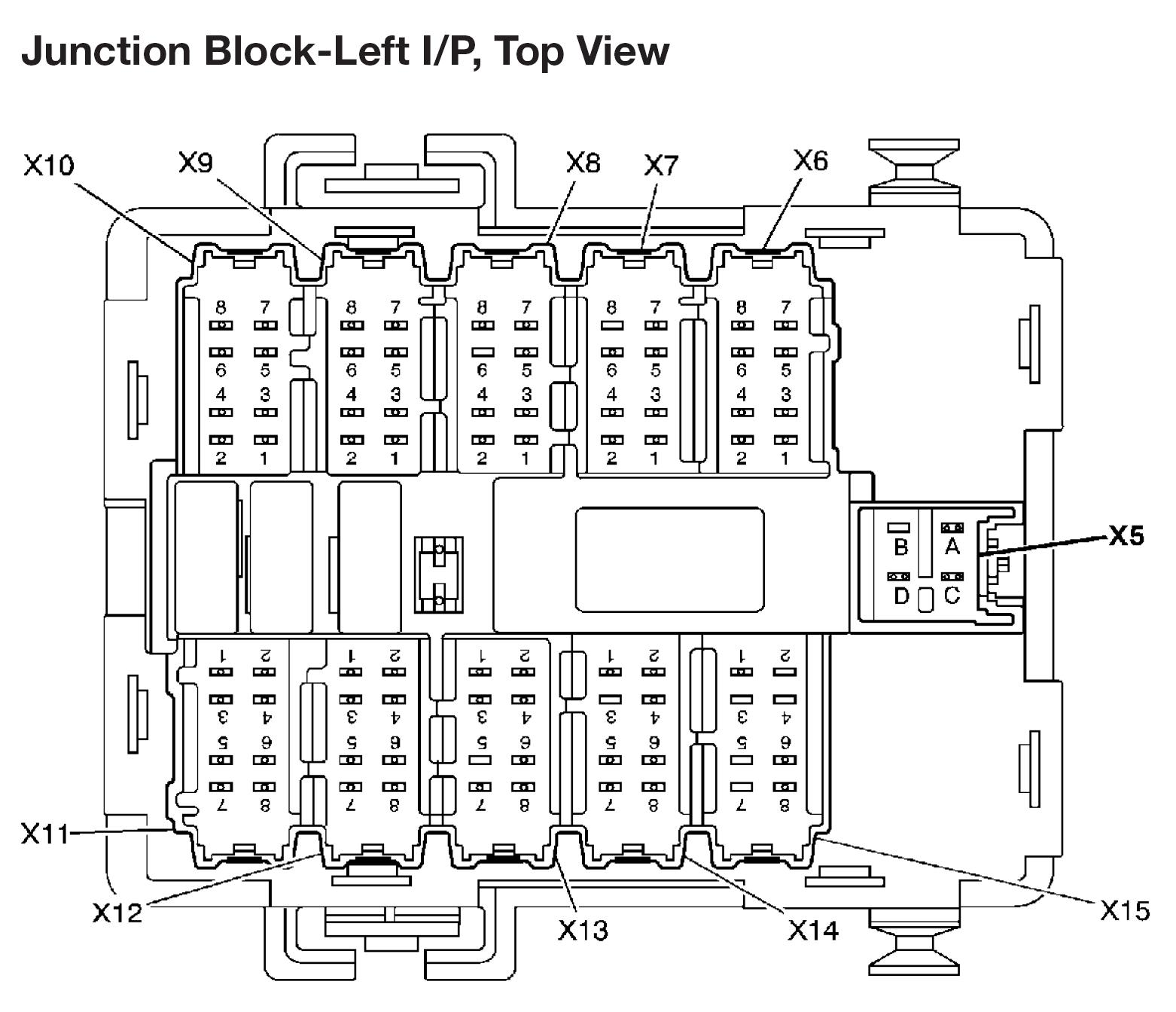 Junction Block Pinout 2003 Avalanche X11 Wiring Diagram Is This For The Thesame I Need To Tap A Acc Wire There That Can Be Used Full Power Not As Switch