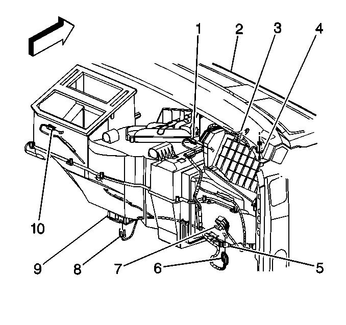 2001 Chevy Tahoe Heater Box Diagram