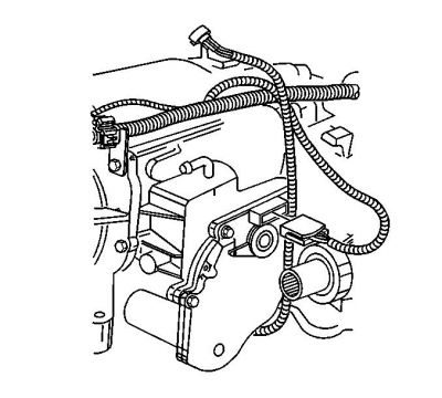 94244 Replacing Transfer Case Encoder Motor on wiring harness diagram